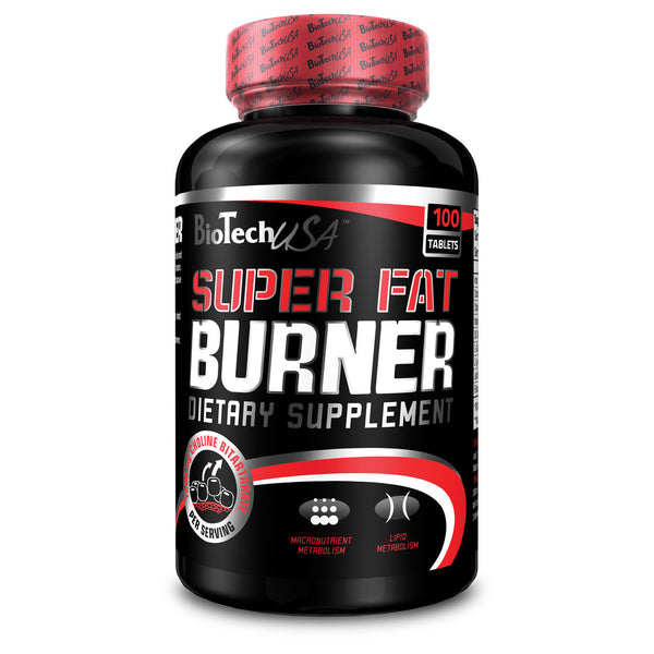 BioTech USA Super Fat Burner Dietary Supplement Tablets 120 Tablets