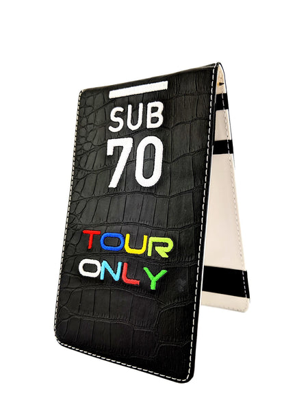 Limited Edition Sub70 Tour Flip Scorecard Holder Tour Only