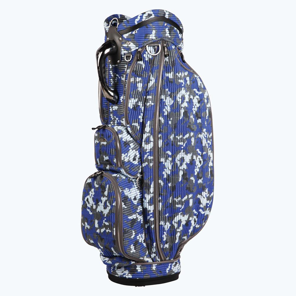 OUUL Camo 'A'  Tour Staff Cart Bag Ocean Camo