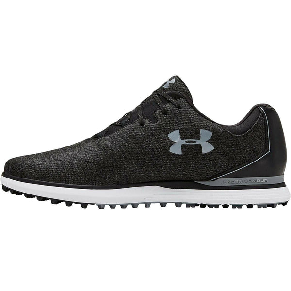 New Under Armour UA Mens Showdown SL Sunbrella Wide E Golf Sports Shoes - Black