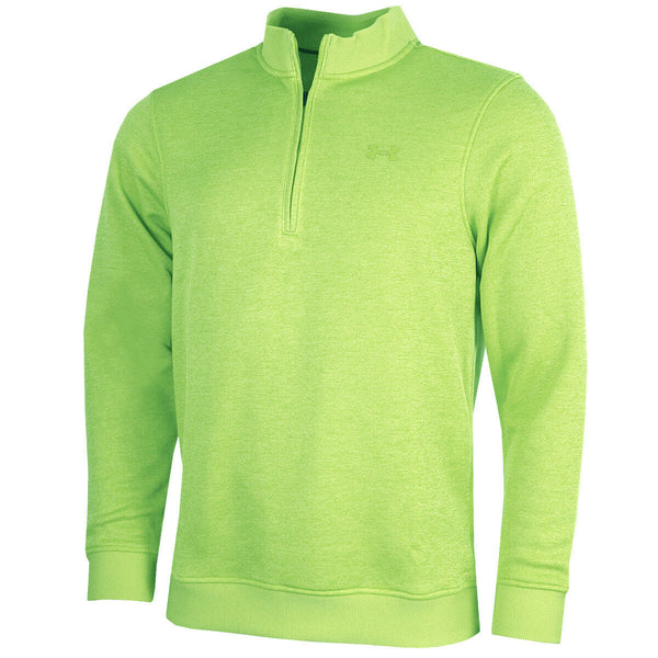 New Under Armour Golf Storm Zip Sweater Lime 1281267