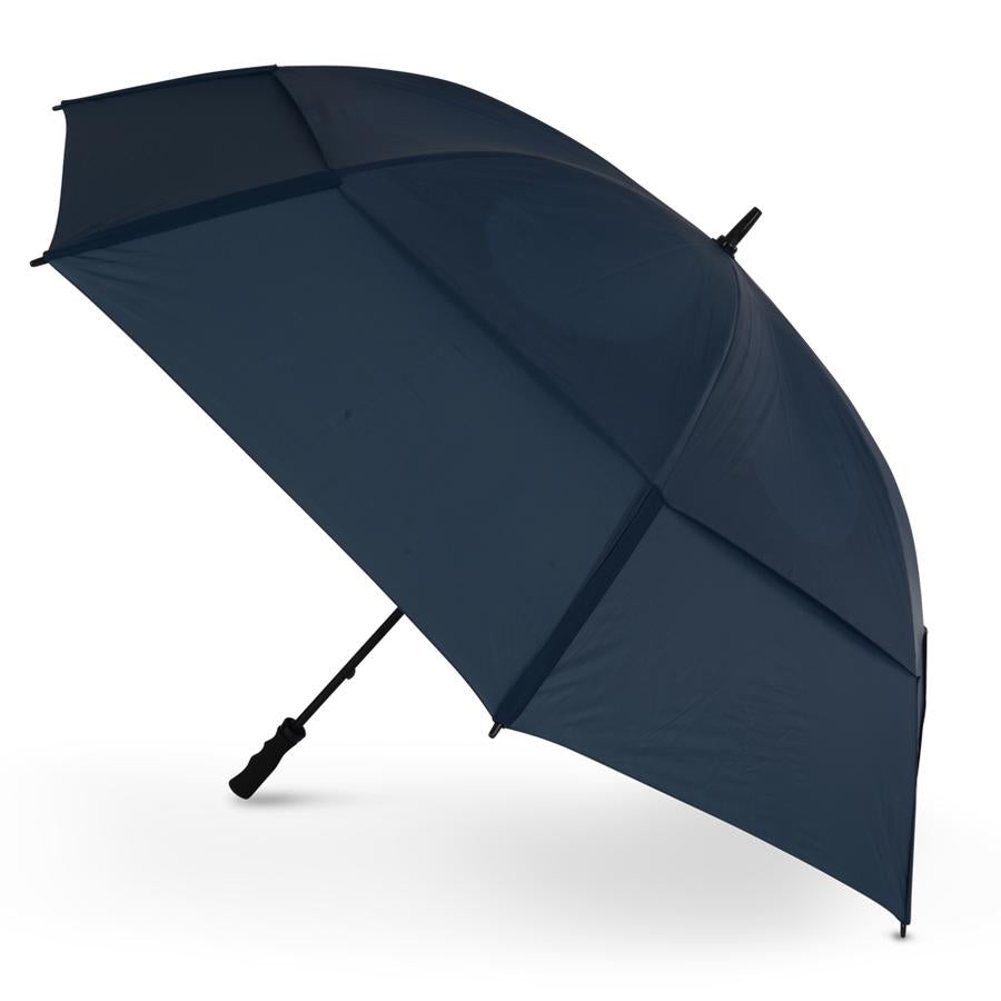 New 2020 Tour Double Canopy Gustbuster Navy Golf Umbrella BUY ONE GET ONE FREE