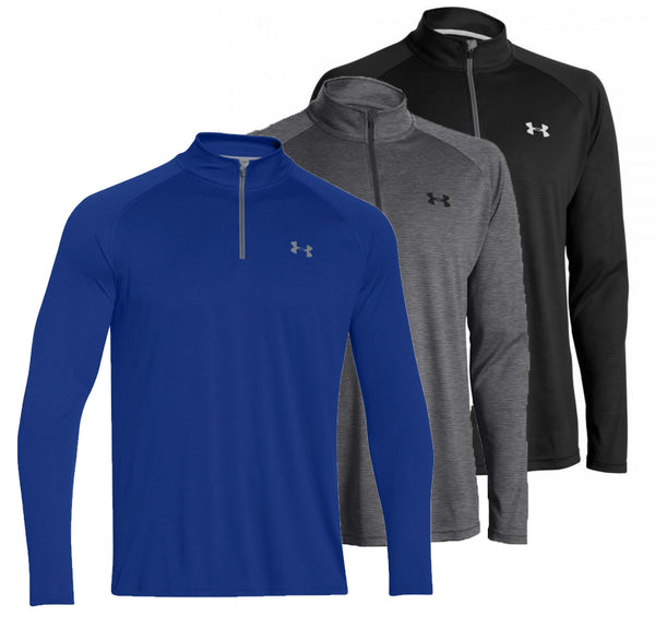 Under Armour Golf Tech Lightweight 1/4  Zip Top  1242220