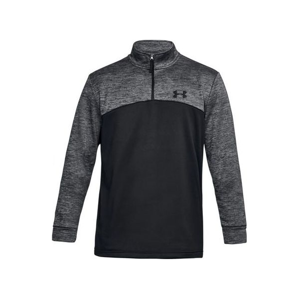 Under Armour Golf Storm Icon Zip Top Black/Grey 1286334