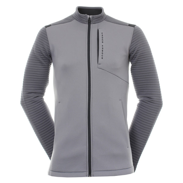 Under Armour Golf Storm Daytona Full Zip 1317342 Zinc Grey