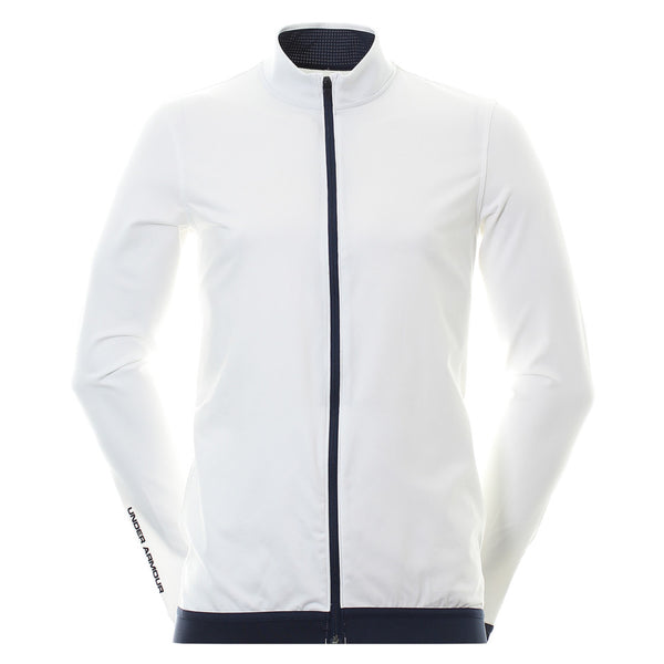 Under Armour Golf UA Playoff Full Zip White 1315475