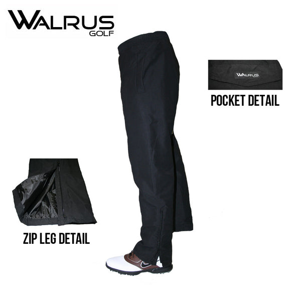 New Walrus Golf Storm Waterproof Golf Trousers