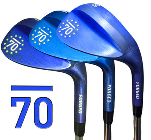 NEW 2021 Sub70 Golf Ryder Cup Style Europe Forged Blue Wedges 52,56,60 CNC Milled
