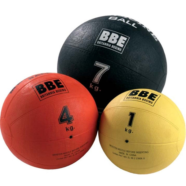 York Fitness BBE Max Grip Rubber Medicine Ball