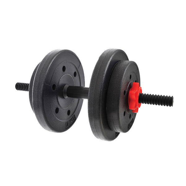 York Fitness Y Vinyl Dumbbell Set 15Kg - Damaged Packaging