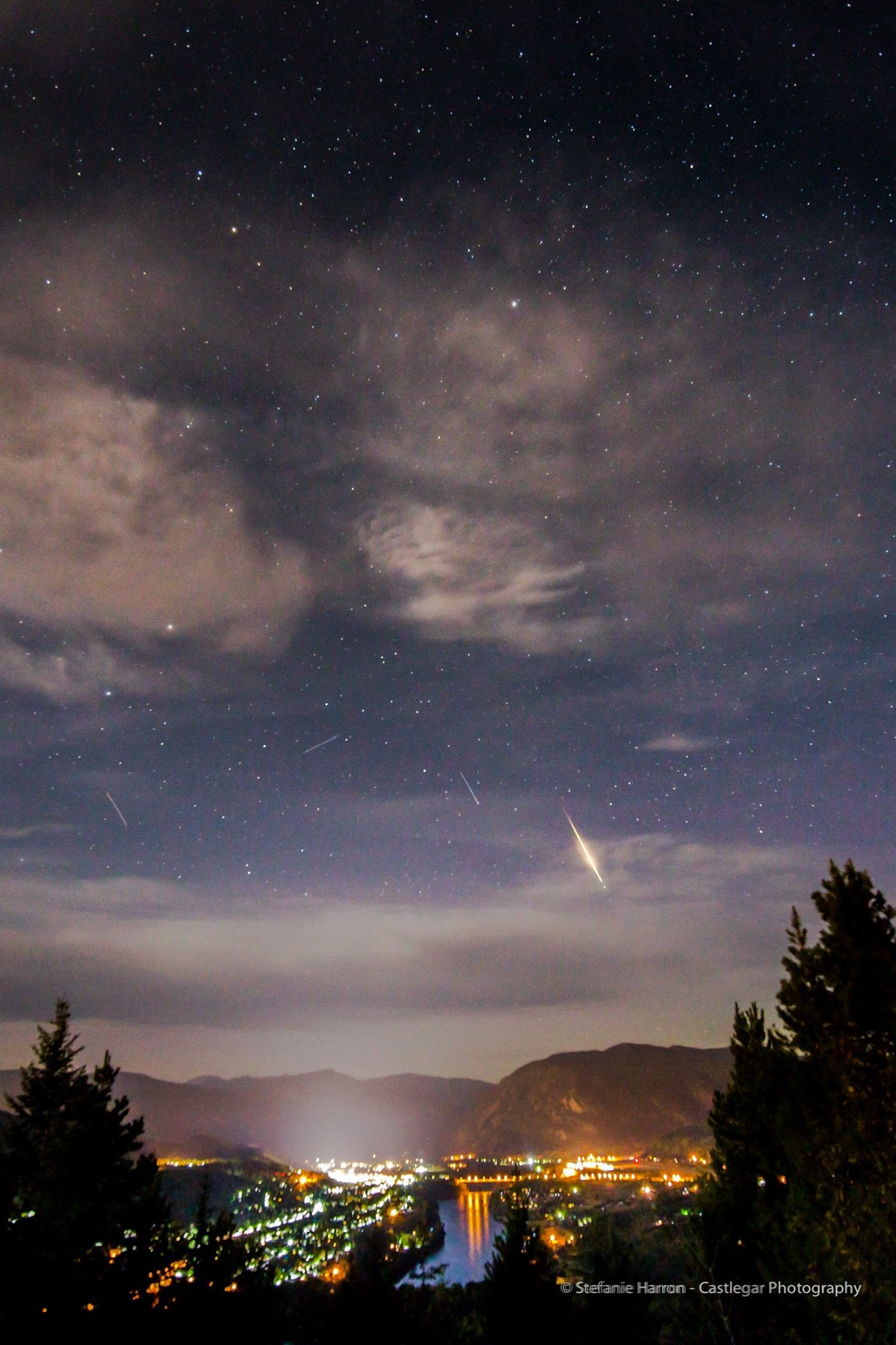 Perseid Meteor Shower and Recent Astrophotography Work