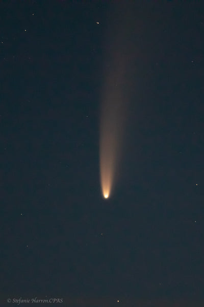 Neowise Comet & The Moon