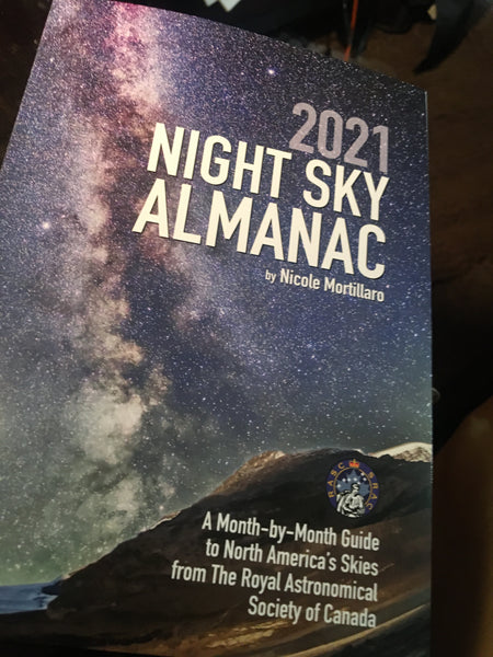 2021 NIGHT SKY ALMANAC by Nicole Mortillaro