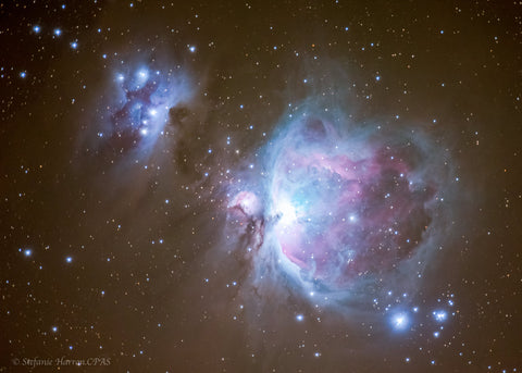 Orion and The Running Man Nebula