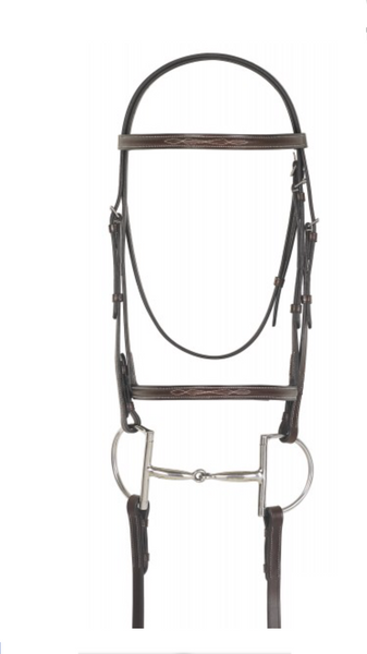 Dark Brown Comfort English Bridle