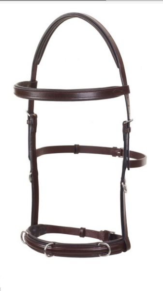 Brown Metallic English Bridle all purpose