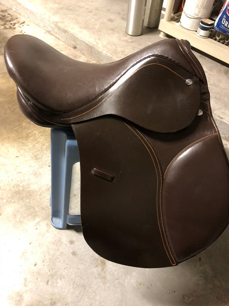 All purpose Brown Dressage English Saddle