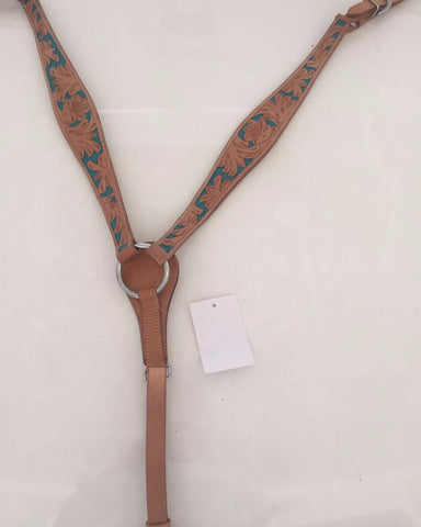 Brown Western Breast Collar