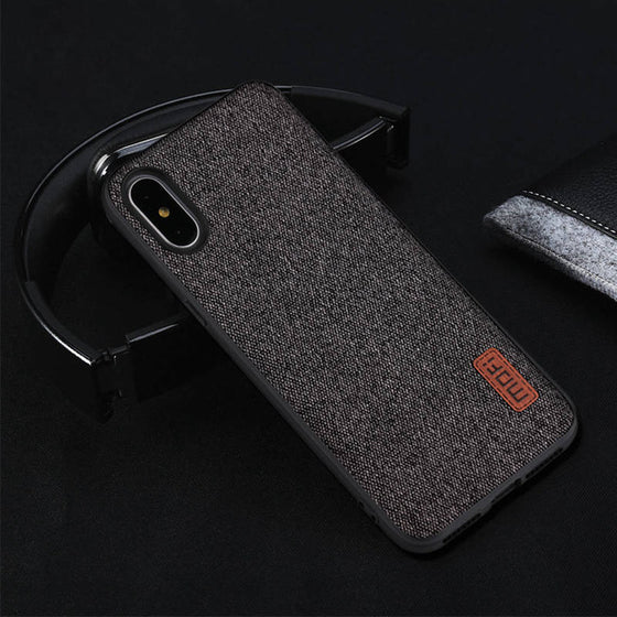 Silicone edge shockproof men business