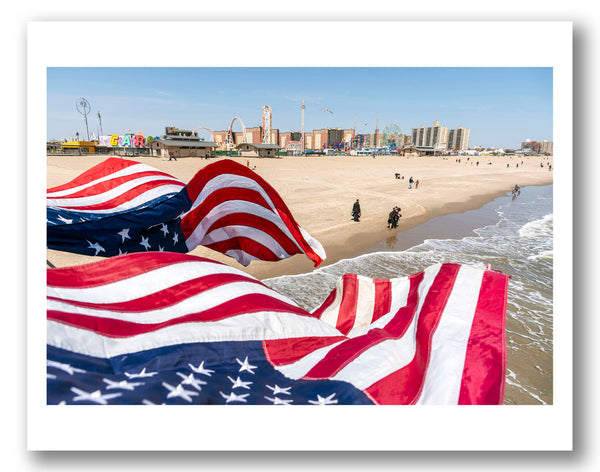 Coney Island Flags