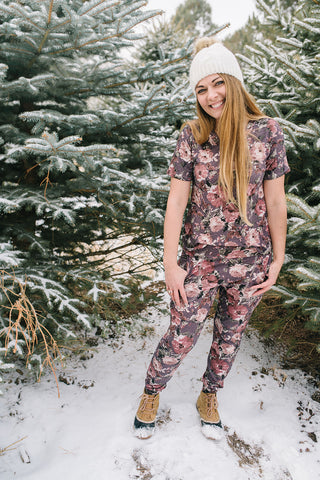 Jodi Jammies Faded Floral
