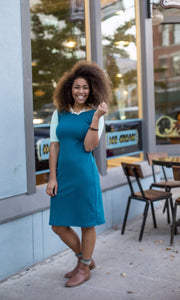 Teal & Mint Emaley Dress