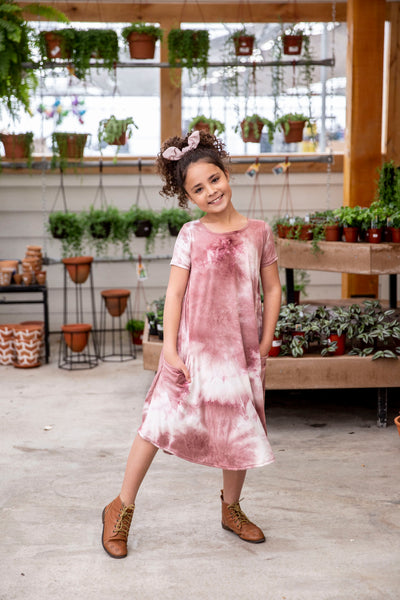 Mini April Blush Tie Dye