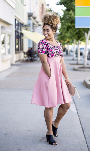 Floral Blush Lenny Dress