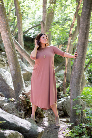 Jessi Dress Cinnamon