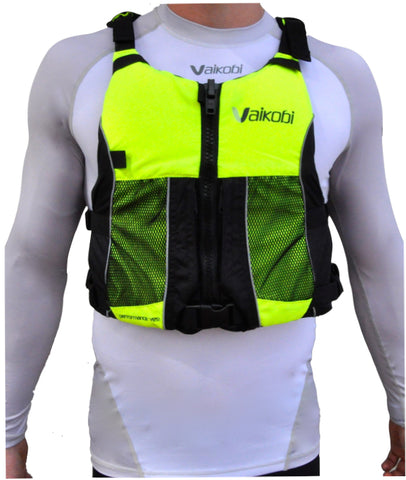 OCEAN RACING PFD- HI VIS FLURO YELLOW