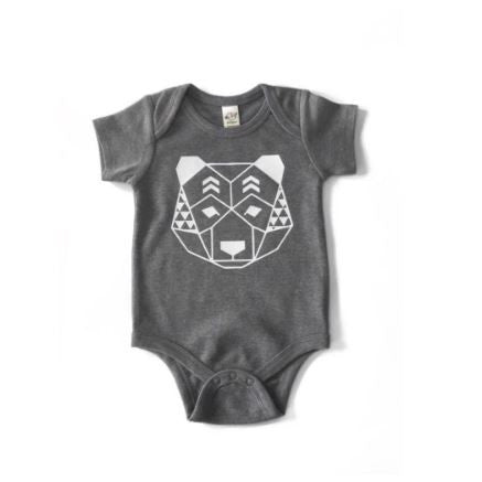 Geo Bear {Infant Bodysuit}