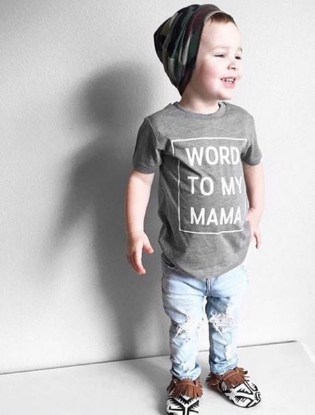 Word To My Mama {Toddler}