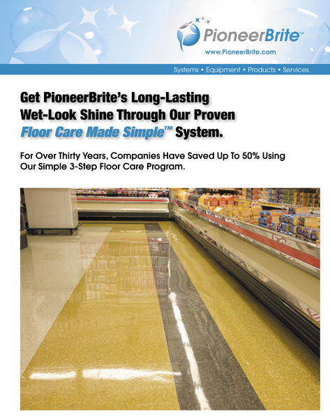 Floor Care Made Simple by Pioneer Brite of memphis