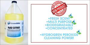 Hydrogen Peroxide cleaning by Pioneer Brite