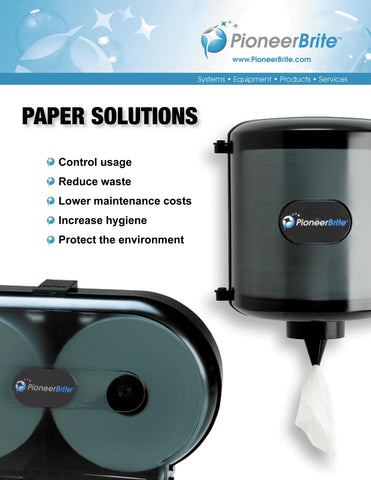 paper supplies from Pioneer Brite, Inc.