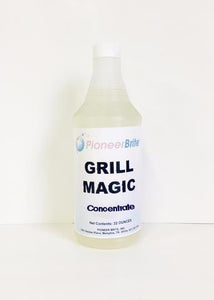 104360 - Pioneer Brite Grill Magic Concentrate, 12 x 32 oz. (other sizes available)