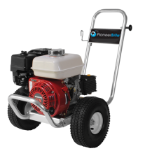 247805 - coldwater pressure washer - 196cc honda gx200, gas eng. powder coated frame (other styles available)