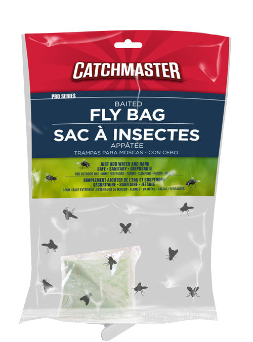 121091 - BAITED FLY BAG, each {8 PER CASE} 'just add water & hang'