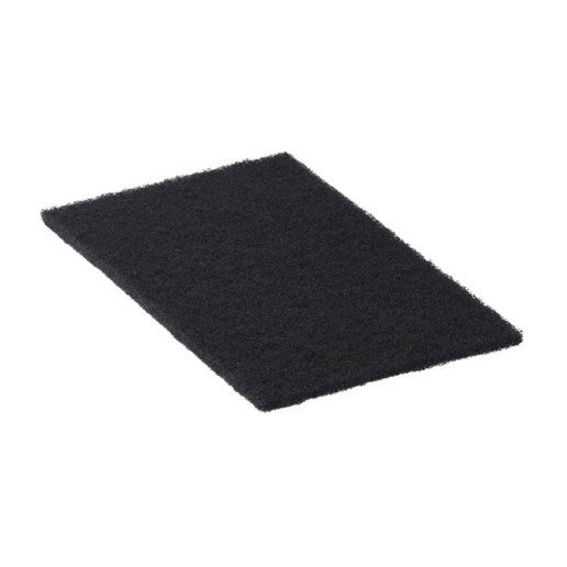 236076 - heavy duty black cleaning pad 3-1/2