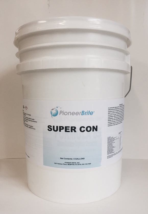102605 - Super Con General Purpose Cleaner, 5 gl. pail