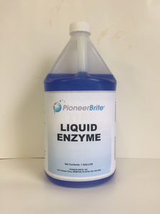 104602 - PIONEER BRITE Liquid Enzyme Sewer Digester, 4x1 gl. case (other sizes avail.)