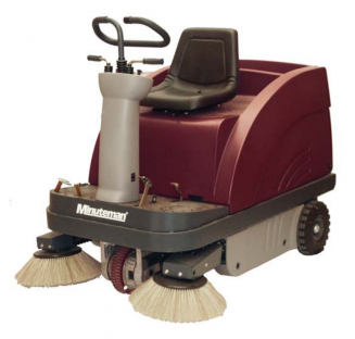 240911 - MinuteMan Kleen Sweep 47r Riding Sweeper
