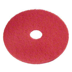 Red Polish Floor Pads - 231213 (Sizes Avail. 13