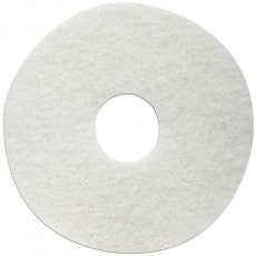 White Super Polish Floor Pads - 231313 (Sizes Avail. 13