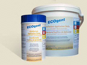 179010 - ECOgent Disinfectant Application Cloths