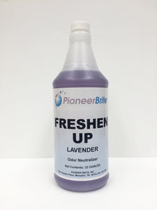 104700 - PIONEER BRITE Freshen Up / Lavender Scent, 12x32 oz., (other sizes avail.)