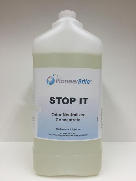 150513 - PIONEER BRITE Stop It, Odor Neutralizer Concentrate, 2x2.5 gl., (other quantities avail.)