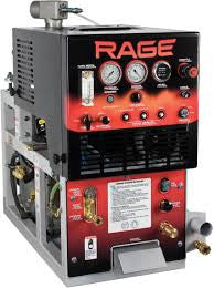 Rage truckmount, 90 gallon waste tank offered from Pioneer Brite.