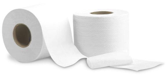205020 - Roll to roll bath tissue 2 ply 4