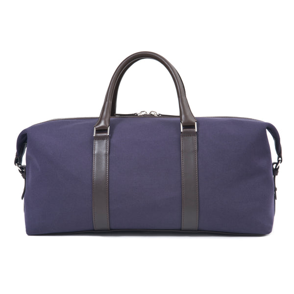 Canvas Duffle Bag for Men. Navy Colour.